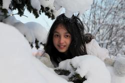 Fame rakastaa lunta ja pakkasta
